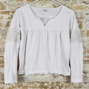 Madewell XS white blouse